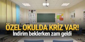 Özel okullarda ücret krizi
