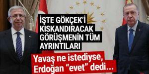 Erdoğan, Mansur Yavaş'a tüm kapıları açtı