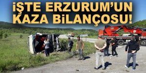 TÜİK 2020 Ağustos dönemi Erzurum Trafik istatistiklerini paylaştı 8 ayda 14 kişiyi kaybettik