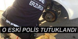 Otomobilinde 61 kilo 750 gram eroin bulunan emekli polis tutuklandı