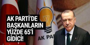 AK Parti'de büyük değişim! İl ve ilçe başkanlarının yüzde 65'i yeni isimler olacak