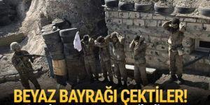 Ermenistan ordusundan bir grup asker esir alındı