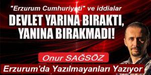 Erzurum Cumhuriyeti'nin ortaya attığı iddialara cevap aranıyor!