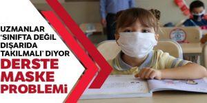 Yeni normalin yeni problemi: Sınıfta maske şart mı?