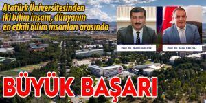 Atatürk Üniversiteli bilim insanlarından önemli başarı