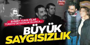 Ahmet Kaya filmi Türkiye'de davalık olunca… Büyük saygısızlık!
