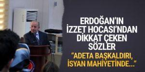 Erdoğan'ın yasa tasarılarını onaylattığı profesörden AYM çıkışı