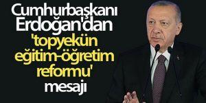 Erdoğan: Genç bir nüfusa sahibiz ama medeniyet tasavvurumuzu layıkıyla hayata geçiremiyoruz