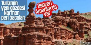 """""""Kırmızı periler diyarı""""nda yılda 500 bin turist hedefi"""