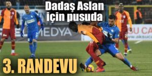 Erzurumspor ile Galatasaray, 3. randevuda