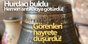 2 bin yıllık olduğu düşünülen çan hurdacıdan çıktı, müzeye teslim edildi