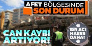 Depremin ardından ölü ve yaralı sayısı artıyor!