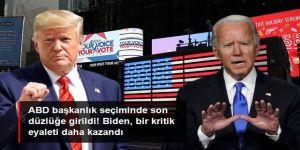 ABD başkanlık seçiminde son düzlüğe girildi! Biden, Michigan'ı da kazandı