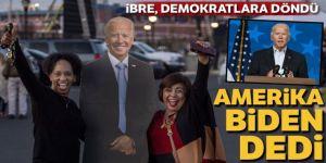 İbre, demokratlara döndü: Amerika Biden dedi!