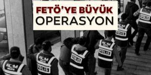 Erzincan merkezli FETÖ operasyonunda 17 zanlı yakalandı