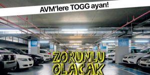 AVM'lere yerli otomobil ayarı!