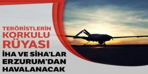Erzurum'dan havalanacaklar...
