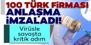 100 Türk firması anlaşma imzaladı