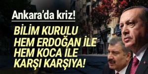 Bilim Kurulu hem Sağlık Bakanlığı'yla hem de Erdoğan ile karşı karşıya!