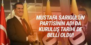 Mustafa Sarıgül'ün yeni partisinin ismi belli oldu