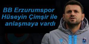BB Erzurumspor Hüseyin Çimşir ile anlaşmaya vardı