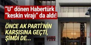 Habertürk önce AK Parti'ye şimdi de RTÜK'e bayrak açtı!
