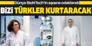 Dünya BioNTech'in kurucusu Uğur Şahin ve Özlem Türeci'nin bulduğu Corona aşısına odaklandı