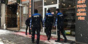 Horasan Belediyesi Zabıta ekipleri hijyen denetiminde