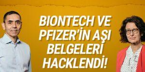 Biontech ve Pfizer'in aşı belgeleri hacklendi
