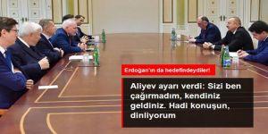 Azerbaycan Cumhurbaşkanı Aliyev'den Minsk Grubu'na ayar