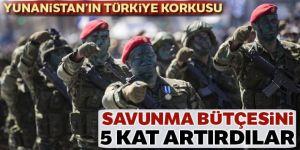 Yunanistan'ın Türkiye korkusu: Savunma bütçesini 5 kat artırdılar