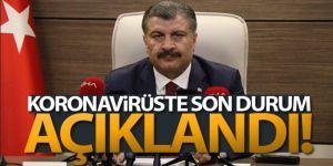 Türkiye'de son 24 saatte 19.256 koronavirüs vakası tespit edildi