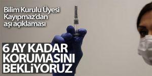 Bilim Kurulu Üyesi Kayıpmaz'dan aşı açıklaması