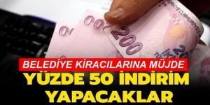 Erzurum'da belediyelerden kiracılarına büyük indirim