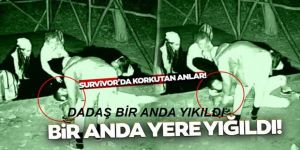Survivor Yunus Emre korkuttu!