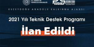 KUDAKA 2021 yılı teknik destek programı açıklandı