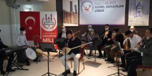 Erzurum'da lise öğrencileri sanatsal etkinliklerde buluşacak