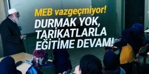 MEB tarikatlarla işbirliğini sürdürüyor