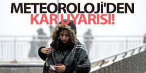 Doğu Anadolu'da karla karışık yağmur ve kar etkisini sürdürüyor