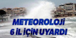 Doğu Anadolu Bölgesi'nde 6 il için fırtına uyarısı