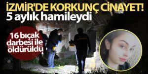 5 aylık hamile olan dini nikahlı eşini sokak ortasında öldürdü