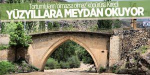 Kireçli köprüsü yüzyıllara meydan okuyor