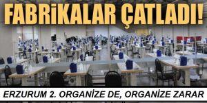 Erzurum 2. organize de, Organize Zarar!