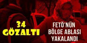 Erzurum Büyük Bölge Talebe Mesulü yakalandı
