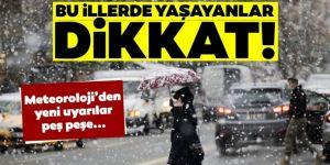 Doğu Anadolu'daki 4 ilde kar bekleniyor
