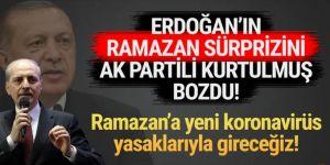 Numan Kurtulmuş açıkladı: ''Ramazan'da ek tedbirler olacak''