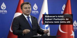 DEVA Partisi'nin iki kurucu ismi partiden istifa etti