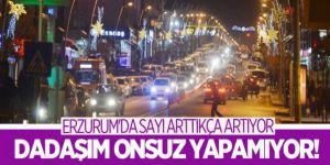 Erzurum'da araç sayısı kaç oldu...