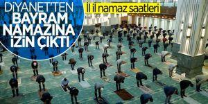 Ramazan Bayramı namazının saatleri belli oldu