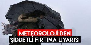 Doğu Anadolu Bölgesi'nde 5 il için şiddetli fırtına uyarısı